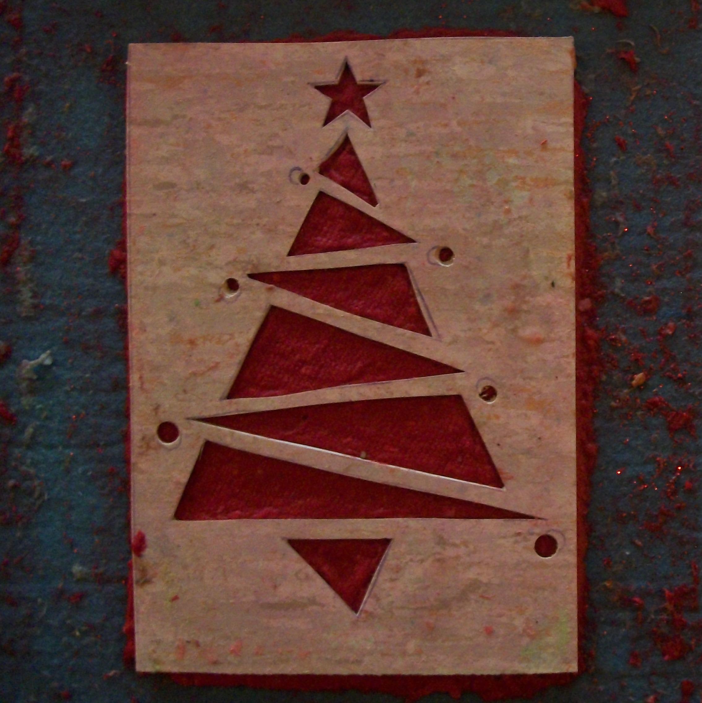 Molto Biglietti Di Natale Fatti A Mano | Chiefdatascientisteurope ZR54