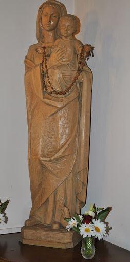 La statua della Madonna col Bambino al Piccolo Rifugio (Foto Susanna Paulon)